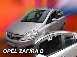 Дефлекторы окон (ветровики)  OPEL ZAFIRA  2005r-. (HEKO)