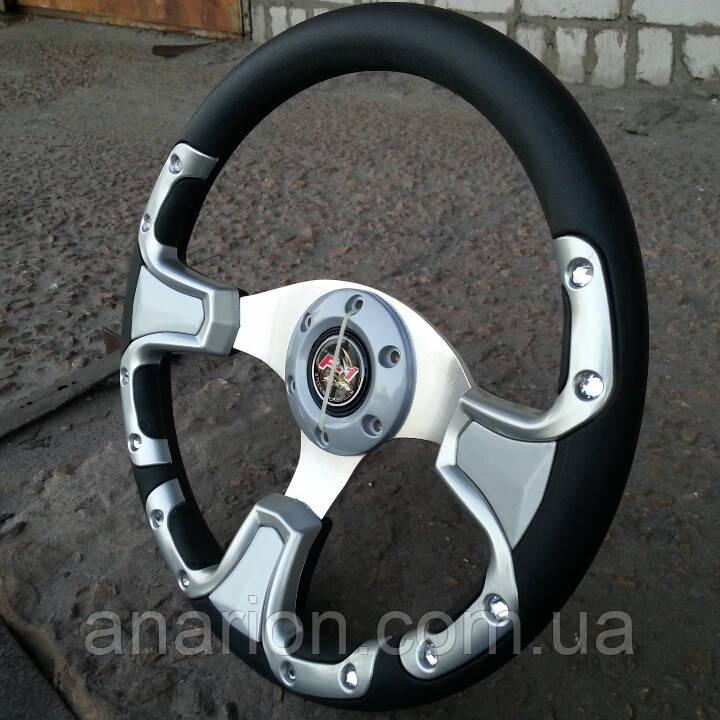 Руль спортивный №609 (серый).