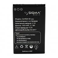 Аккумулятор для Sigma mobile Comfort 50 Mini 3 (ORIGINAL) 850мAh