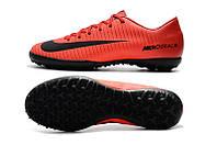 Футбольные сороконожки Nike Mercurial Victory VI TF Bright Crimson/White/University Red/Hyper Crimson, фото 1