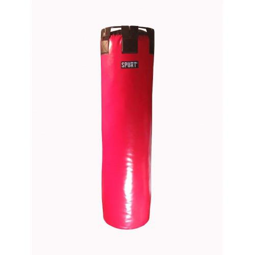 Боксерский мешок SPURT 130х40 красный