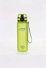 Бутылка для воды Uzspace: 500 мл. Цвет: Зеленый