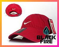 Кепка Nike бейсболка Найк красная