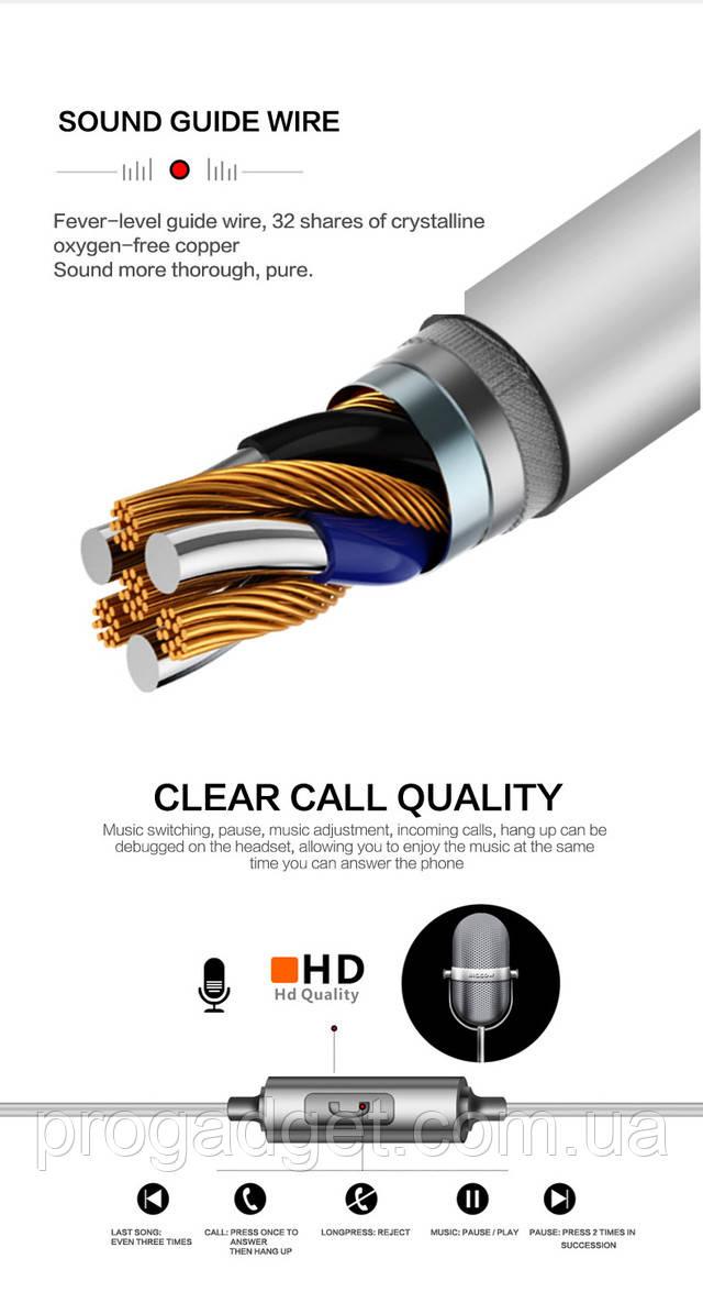 Наушники QKZ EQ1 MP3 DJ Headphones Fone де ouvido Auriculare Grey (серый) Когда недорого может хорошо играть