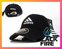 Кепка Adidas бейсболка Адидас черная