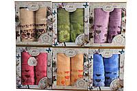Подарочный набор полотенец махровые Турция