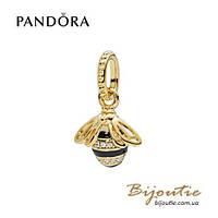 Pandora Shine Шарм-подвеска ПЧЕЛА #367075EN16 серебро 925 Пандора оригинал