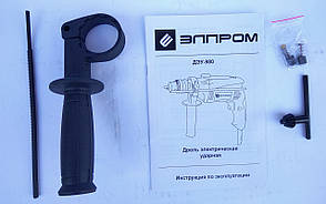 Дрель ЭЛПРОМ ЭДУ-980, фото 2