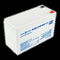 Аккумулятор мультигелевый LogicPower 12V, 7 Ah (7000 mAh), AGM