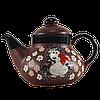 """Чайник керамический """"Ежик с сердцем"""""""