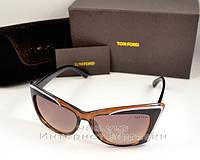 Женские солнцезащитные очки Tom Ford кошачий глаз классическая модель стиль 2018 года том форд копия