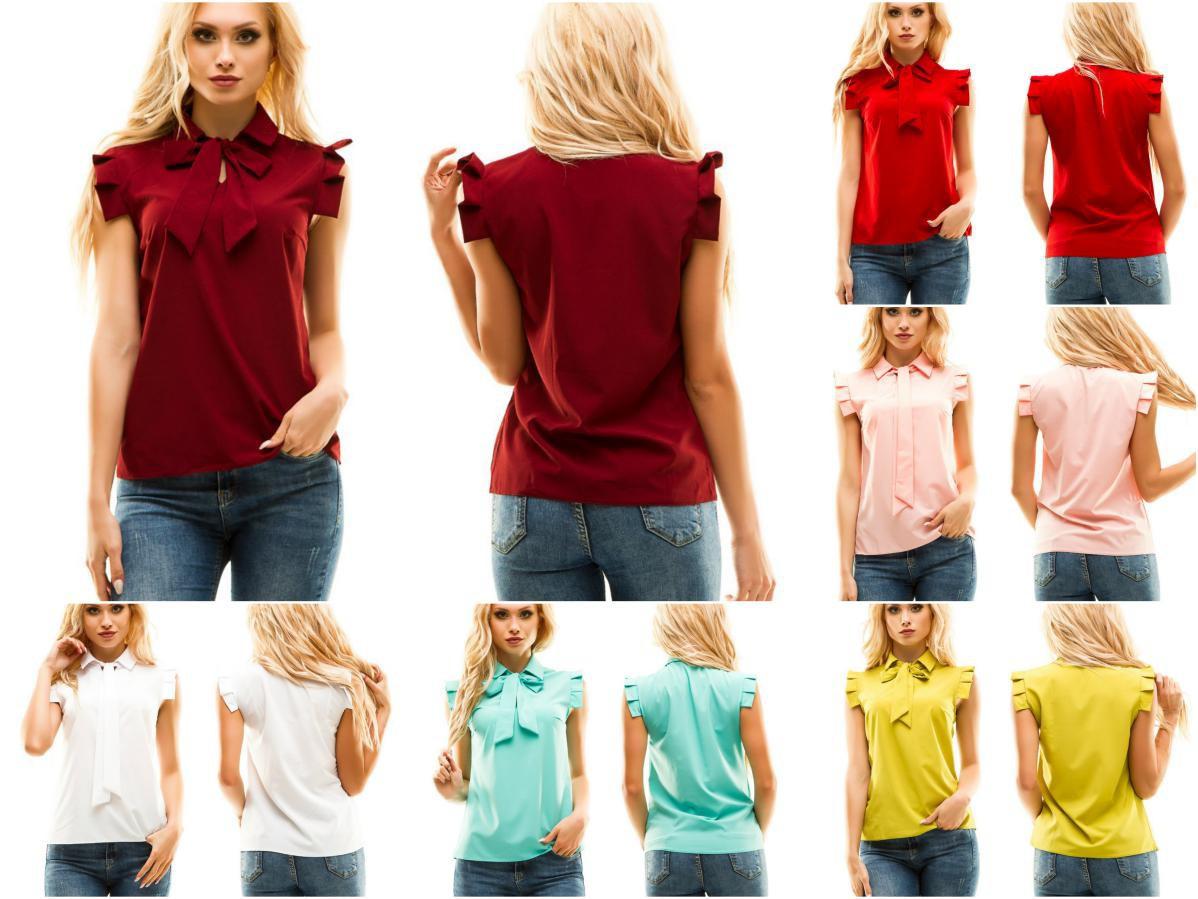 Легкая женская блуза из софта