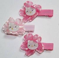 Заколка для волос уточка, розовый, кити(10 шт) 11_2_25a2