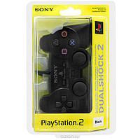 Геймпад DualShock 2 для Sony Playstation 2 (черный)