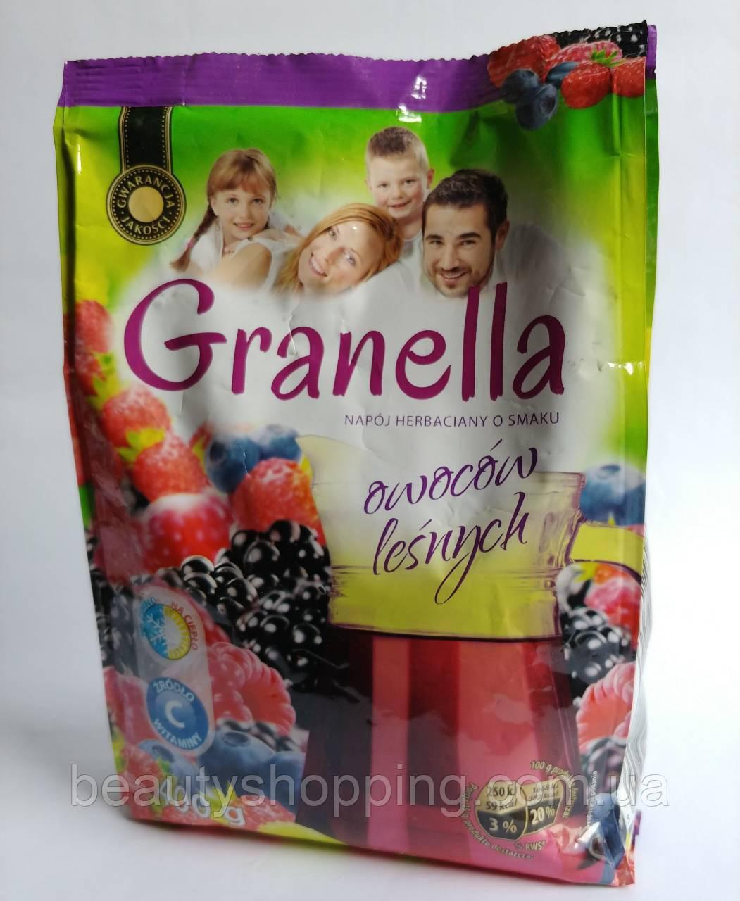 Чай гранульований Granella лісові ягоди 400 гр Польща