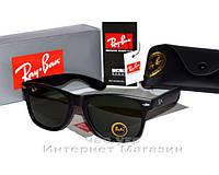 Солнцезащитные очки Ray Ban Wayfarer RB 2140 Стекло унисекс рей бен мужские  и женские реплика 15dfeeaacaf62