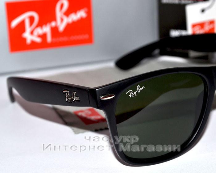 ... Солнцезащитные очки Ray Ban Wayfarer RB 2140 Стекло унисекс рей бен  мужские и женские реплика 3fb14d627b5f7