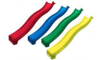 Горка детская пластиковая скользкая, спуск 2,2 метра. Разные цвета.