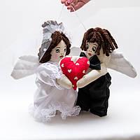 Кукла Свадебная Валентины пара средняя.