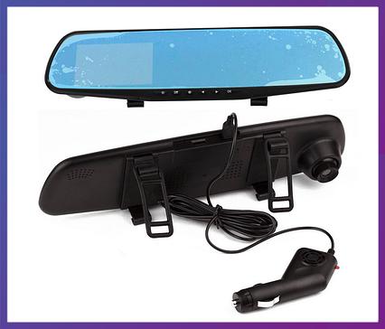 Зеркало-видеорегистратор Rear-View Mirror DVR 138W 3,8, фото 2