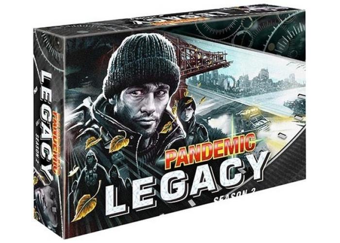 Пандемия: Наследие 2 черная, настольная игра, Pandemic Legacy: Season 2, для 2-4 игроков