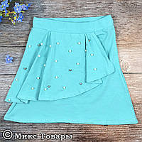 Летняя юбка для девочек Размеры: 9,10,11,12 лет (6469-1)