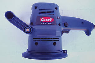 Эксцентриковая шлифмашина Craft CRS-125E, фото 2