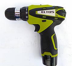 Шуруповерт аккумуляторный Eltos ДА-12М Li-Ion