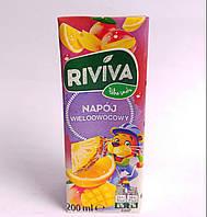 Riviva мультивитаминный сок  200 мл Польша