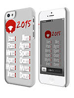 Чехол для iPhone 4/4s/5/5s/5с календарь 2015