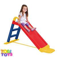 Детская горка Children Slide 140 см марки Tobi Toys