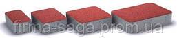 """Тротуарная плитка """"Старый город"""", сухопрессованная 40 мм красная, оливка, коричневая, черная"""