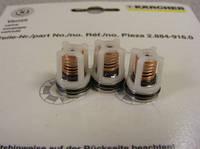 2.884-916.0 Клапаны Karcher (3 шт.) для HD 6/15C HD 7/18C, фото 1