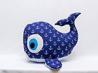 Кит игрушка Vikamade подушка, фото 1