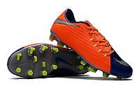 Футбольные бутсы Nike HyperVenom Phelon III FG Deep Royal Blue/Chrome/Total Crimson, фото 1