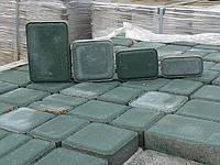 """Тротуарная плитка """"Старый город"""", сухопрессованная 40 мм зеленая, синяя"""
