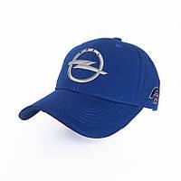 Кепка с автомобильным логотипом Opel - №3725, Цвет синий