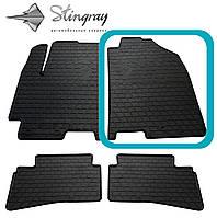 Kia Stonic 2017- Передний правый коврик Черный в салон