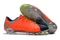 Футбольные бутсы Nike Hypervenom Phantom III FG Deep Royal Blue/Chrome/Total Crimson, фото 1