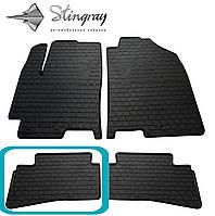 Kia Stonic 2017- Задний левый коврик Черный в салон