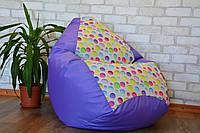 Бескаркасное кресло мешок, кресло Груша Bubbles