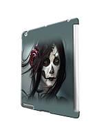 Чехол  для iPad 2/3/4/ Air / Mini.Зомби девушка