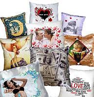 Сувенирная печать на подушках