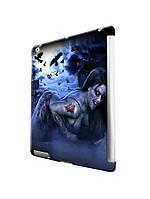 Чехол  для iPad 2/3/4/ Air / Mini. Девушка вампир