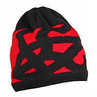 Шапка из акрила патриотическая Cofee ( шапка вязанная )
