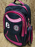 Рюкзак школьный с пеналом Happy Baby, 41х31х16 см