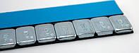 ГРУЗ САМОКЛЕЯЩИЙСЯ 60ГР (НИЗКОПРОФИЛЬНЫЙ, голуб.) металлический