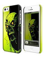 Чехол  на айфон 5 с . zombie monster