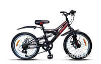 Распродажа! Детский Горный Велосипед Azimut Blackmount 20 | Бесплатная доставка | Подарок | Гарантия