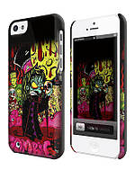 Чехол для iPhone 4/4s/5/5s/5с зомби граффити